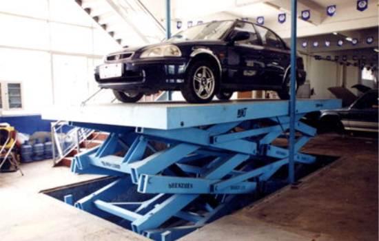 汽车升降机,产品中心 - 升降机_液压升降机_升降台图片
